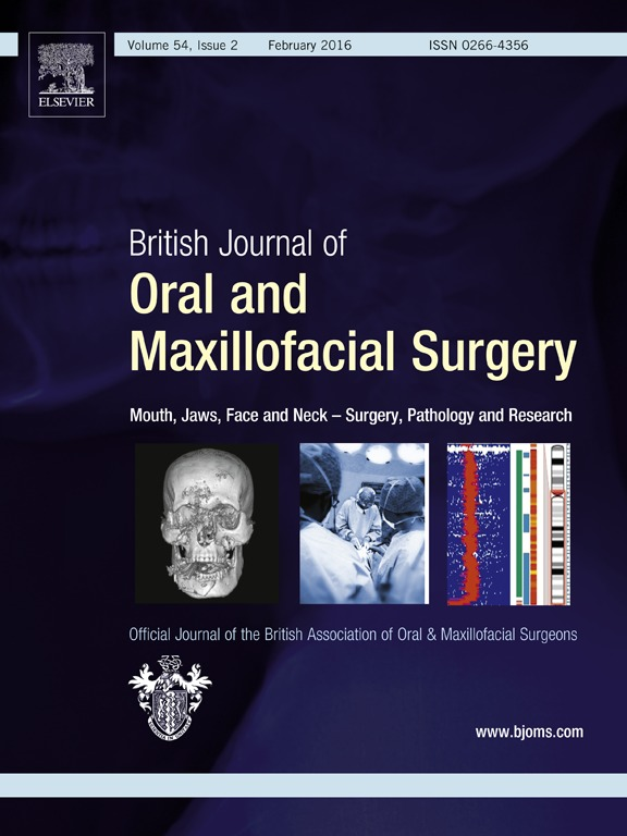 Journal of oral 46 maxillofacial surgery